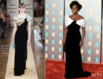 Fashion Blogger Catherine Kallon features Viola Davis In Armani Prive - 2019 BAFTAs