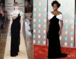 Fashion Blogger Catherine Kallon features Viola Davis In Armani Prive - 2019 BAFTAs