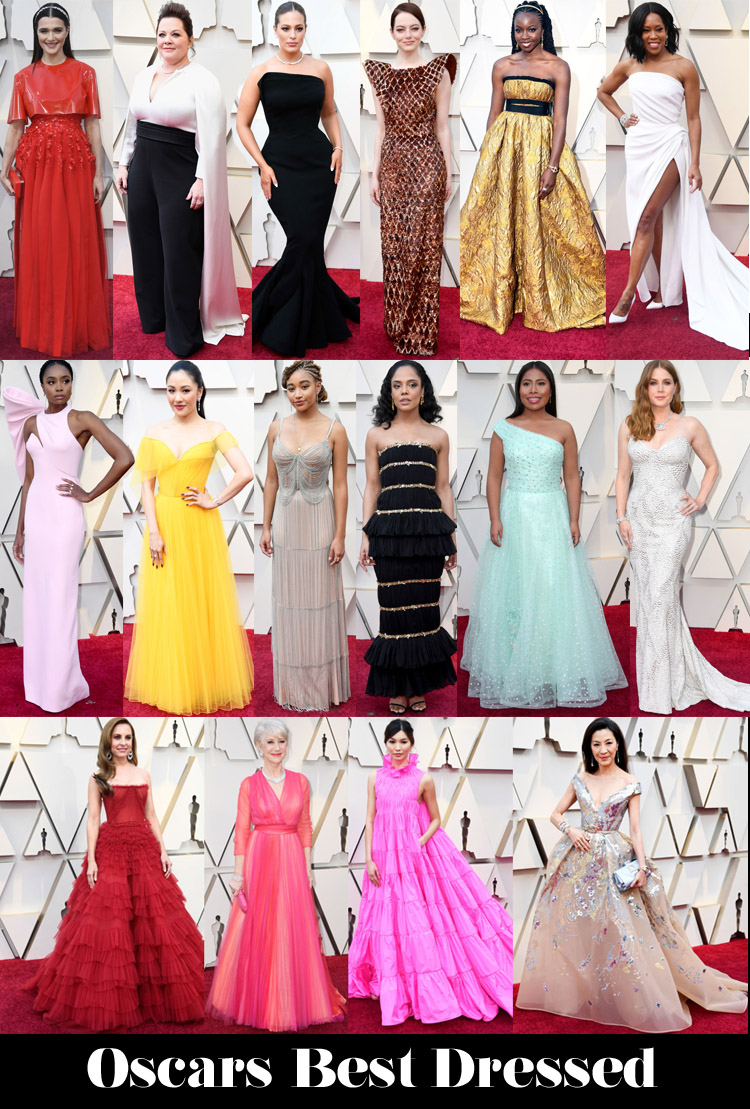 Oscars - Red Carpet Fashion Awards