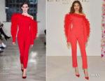 Fashion Blogger Catherine Kallon features Zendaya Coleman In David Koma - Vanity Fair and Lancôme Toast Women In Hollywood
