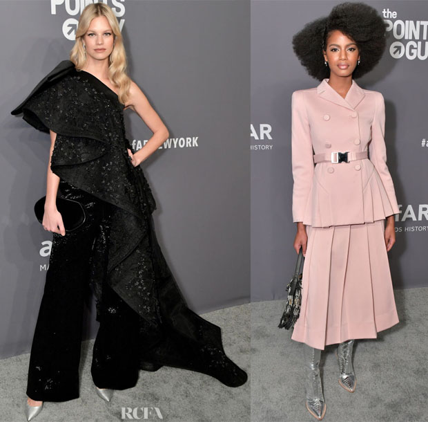 Fashion Blogger Catherine Kallon features amfAR New York Gala 2019