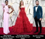 Fashion Critics' 2019 Oscars Red Carpet Roundup