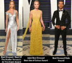 Fashion Critics' 2019 Vanity Fair Oscar Party Red Carpet Roundup
