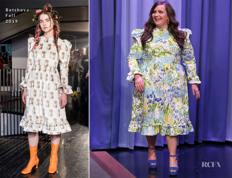 Aidy Bryant In Batsheva - The Tonight Show Starring Jimmy Fallon