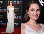 Angelina Jolie In Atelier Versace - 'Dumbo' LA Premiere