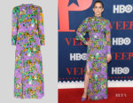 Anna Chlumsky's Whistles  Simone Floral Dress