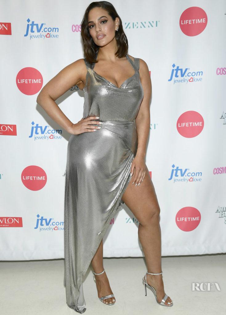 Ashley Graham in FANNIE SCHIAVONI Lifetime's American Beauty Star Season 2 LIVE Finale