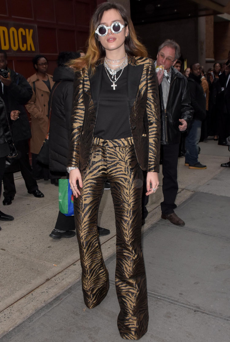 Bella Thorne's Tiger Economy Was Booming In New York City