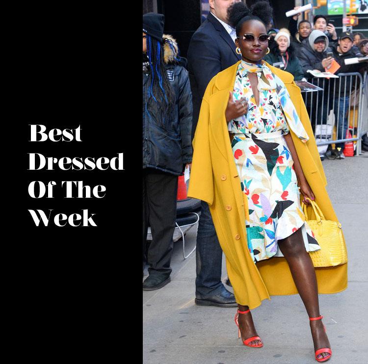 Best Dressed Of The Week - Lupita Nyong'o In Prabal Gurung