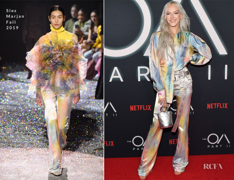Bria Vinaite In Sies Marjan - Netflix's 'The OA Part II' Premiere