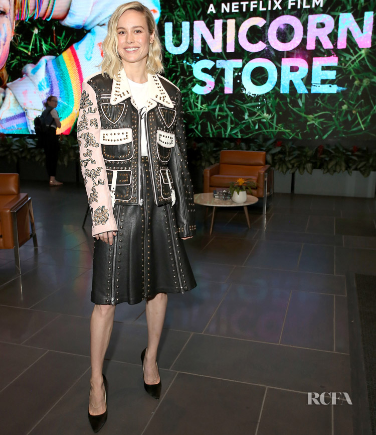 Brie Larson Was Star Studded At The 'Unicorn Store' Screening