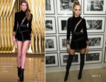 Cara Delevingne In Aadnevik - The Times Square Edition Premiere
