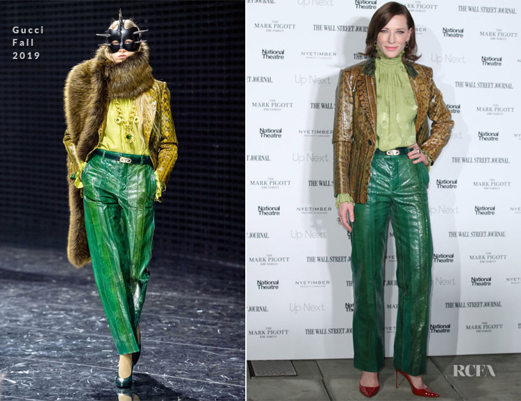 Cate Blanchett In Gucci - Up Next Gala