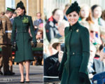 Catherine, Duchess of Cambridge In Alexander McQueen - The Irish Guards St Patrick's Day Parade
