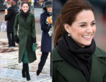 Catherine, Duchess of Cambridge In Sportmax & MICHAEL Michael Kors - Blackpool Visit