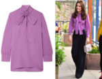 Catherine, Duchess of Cambridge's Gucci Blouse
