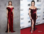 Catherine Zeta Jones In Marchesa - The Royal Welsh College of Music & Drama 2019 Gala