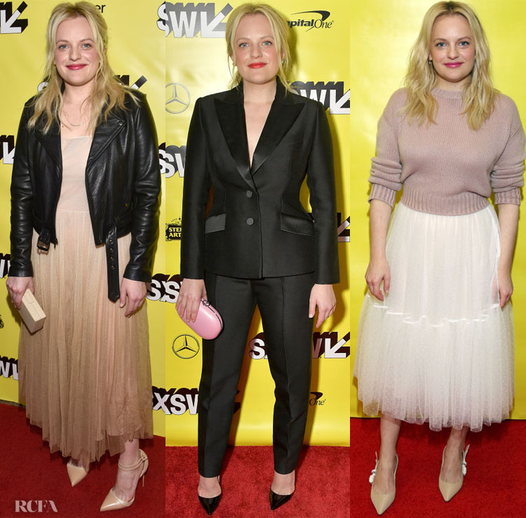 Elisabeth Moss In Christian Dior Haute Couture - 'Her Smell' SXSW Premiere & Featured Session with Brandi Carlile