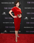 Elizabeth McGovern In Lush Velvet At 'The Chaperone' New York Premiere
