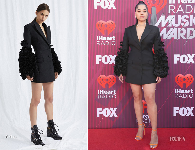 Ella Mai In Acler - 2019 iHeartRadio Music Awards