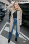 Ellie Goulding's Transitional Coat Inspo