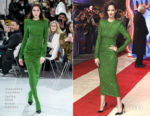 Eva Green In Alexandre Vauthier Haute Couture - 'Dumbo' London Premiere