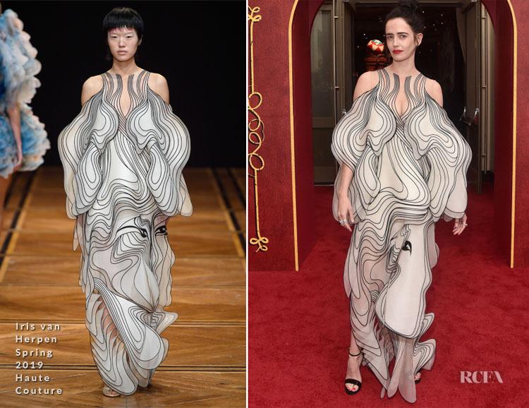Eva Green In Iris van Herpen Haute Couture - 'Dumbo' LA Premiere