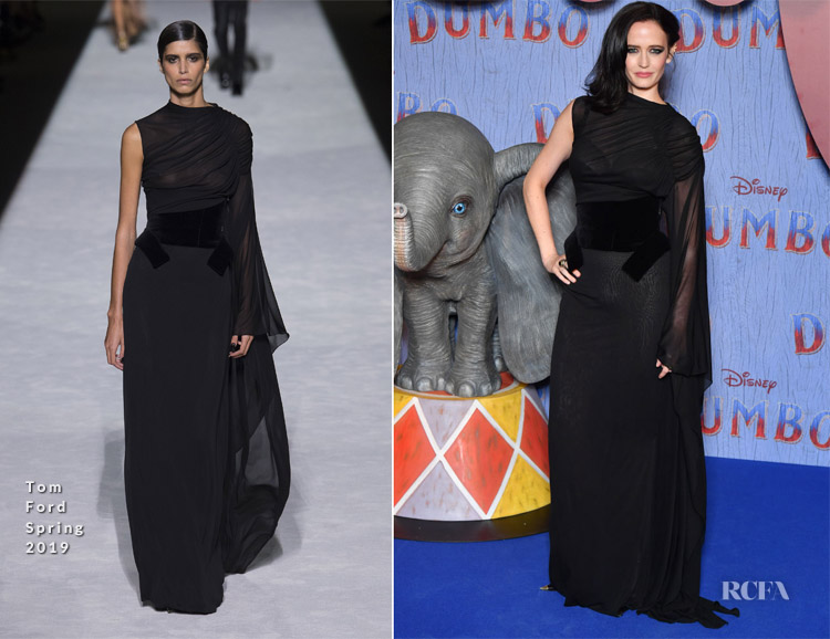 Eva Green In Tom Ford - 'Dumbo' Paris Gala Screening