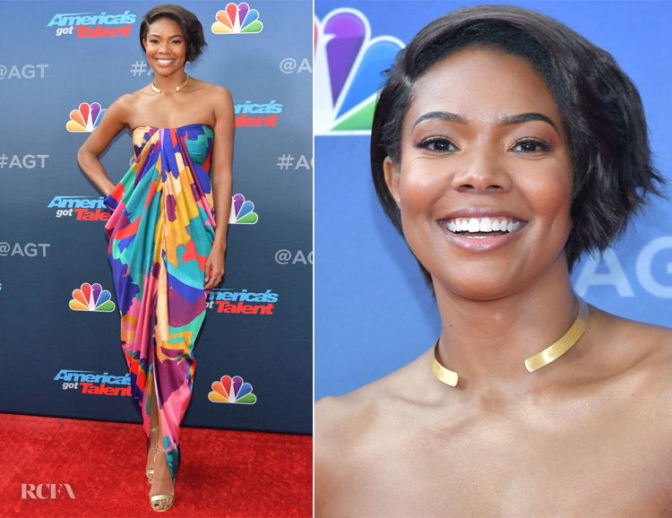 Gabrielle Union In Gabrielle Union for New York Company -vNBC's 'America's Got Talent' Season 14 Kick-Off