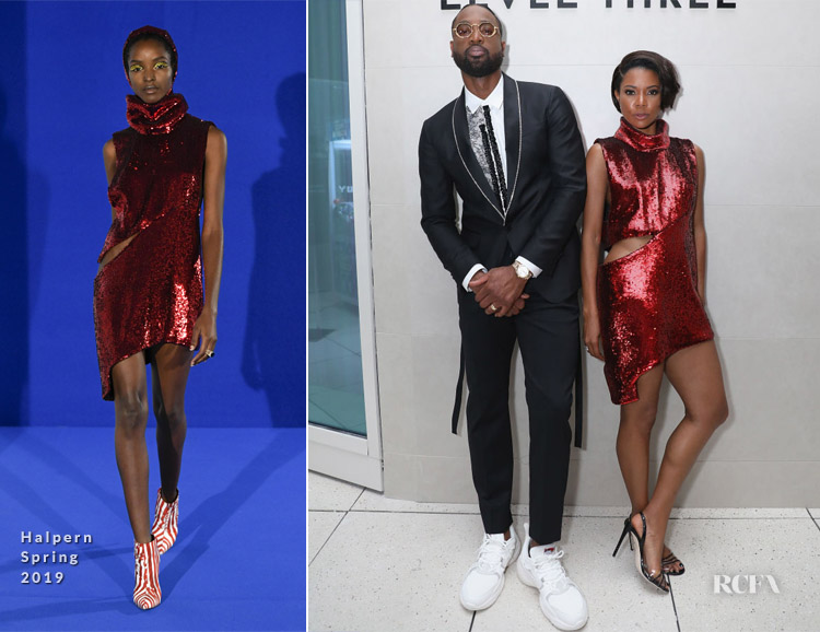 Gabrielle Union In Halpern - 6th Annual A Night On The Runwade