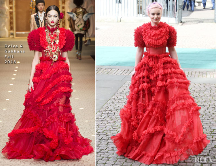 Grace Chatto In Dolce & Gabbana - Commonwealth Day 2019
