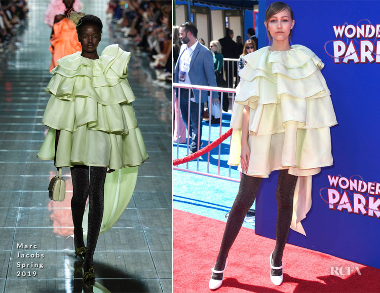 Grace VanderWaal In Marc Jacobs -  'Wonder Park' LA Premiere