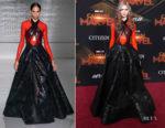 Grimes In Givenchy Haute Couture - 'Captain Marvel' LA Premiere