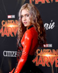 Grimes In Givenchy Haute Couture - 'Captain Marvel' LA Premiere