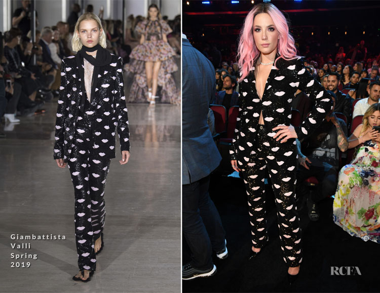 Halsey In Giambattista Valli - 2019 iHeartRadio Music Awards