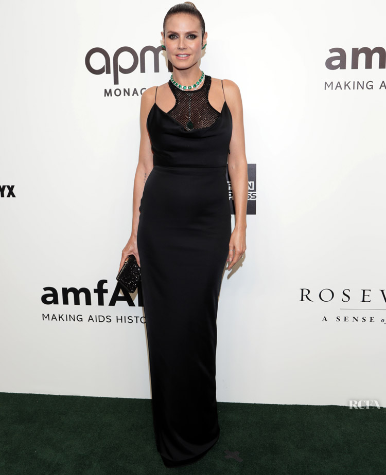 Heidi Klum Was Dripping In Lorraine Schwartz At amfAR Gala Hong Kong 2019