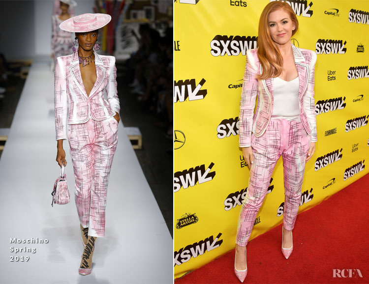 Isla Fisher In Moschino - 'The Beach Bum' SXSW Premiere