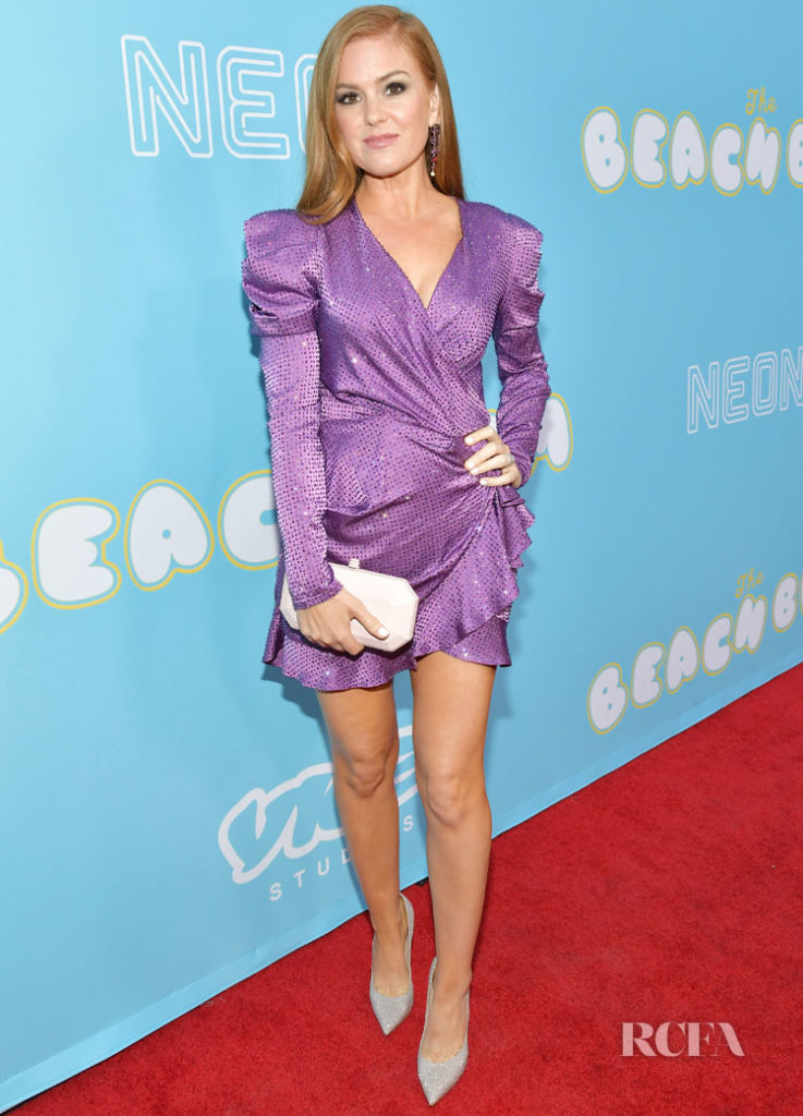 Isla Fisher Wears Raisa & Vanessa To 'The Beach Bum' LA Premiere