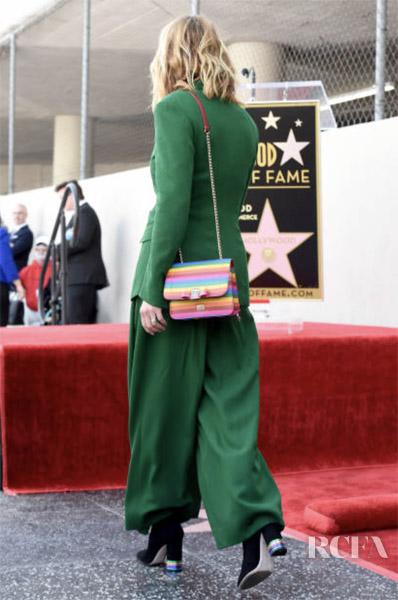 Julia Roberts in Salvatore Ferragamo  - Hollywood Walk of Fame Ceremony