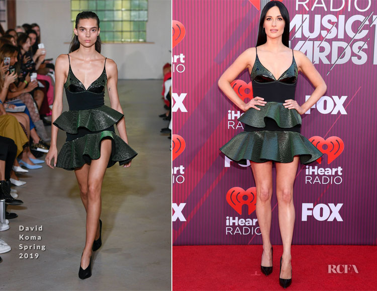 Kacey Musgraves In David Koma - 2019 iHeartRadio Music Awards