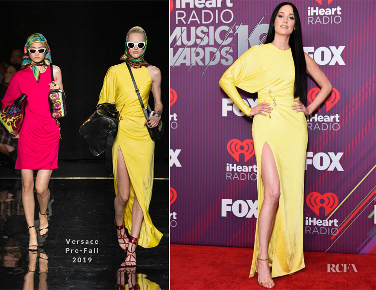 Kacey Musgraves In David Koma & Versace - 2019 iHeartRadio Music Awards