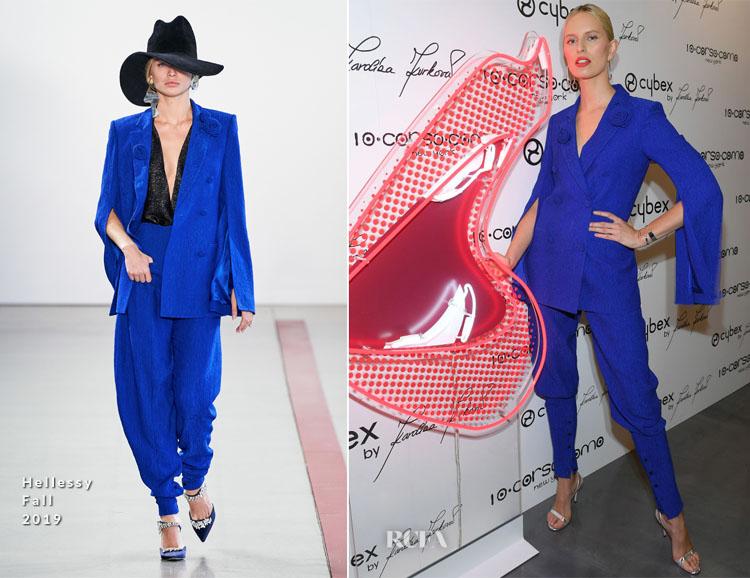 Karolina Kurkova In Hellessy & Solace London - The CYBEX by KAROLINA KURKOVA Collection Launch