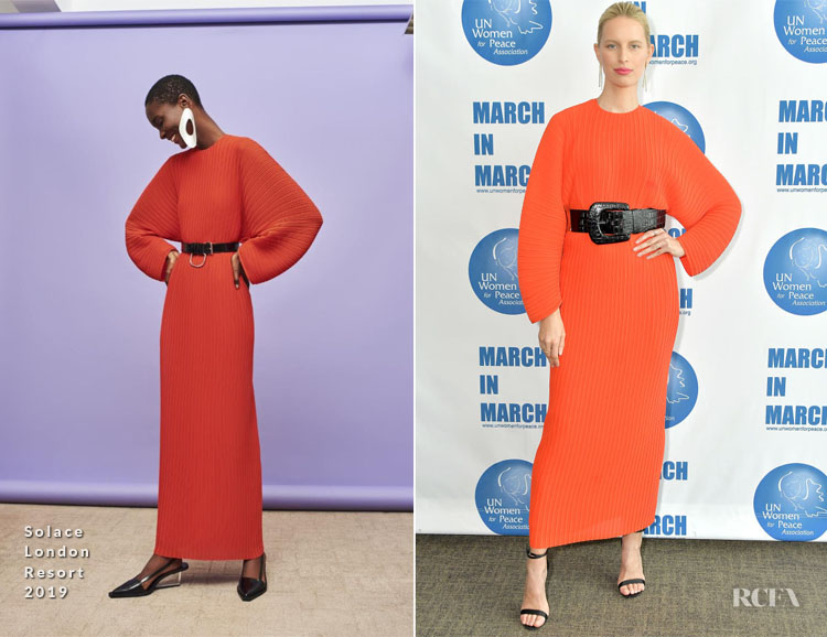 Karolina Kurkova In  Solace London - United Nations Women for Peace Association Annual Awards Luncheon