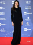 Kasia Smutniak Takes A Walk On The Dark Side for The 64th David di Donatello Film Awards