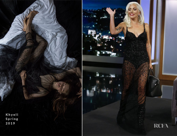 Lady Gaga In Khyeli - Jimmy Kimmel Live!