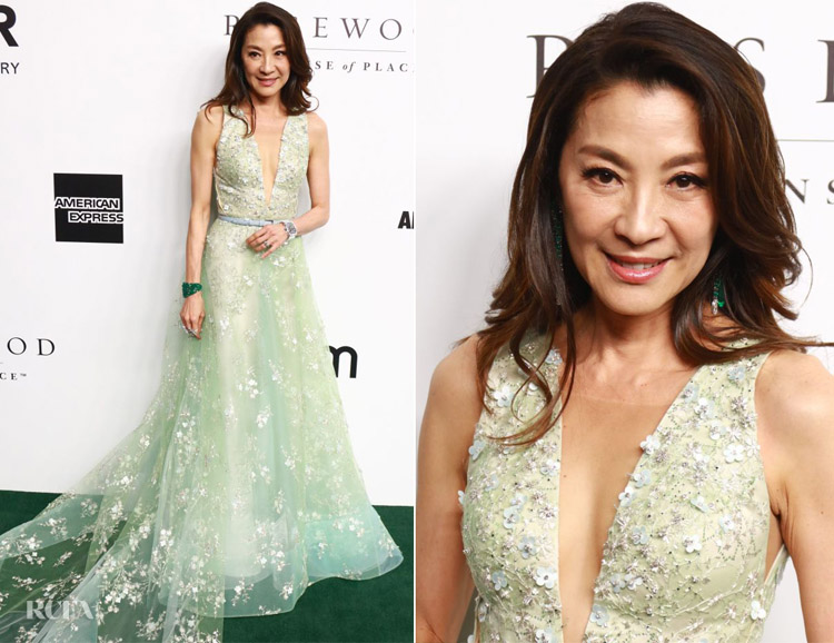 Michelle Yeoh's Princess Moment at amfAR Gala Hong Kong 2019
