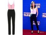 Mila Kunis' David Koma Embellished Cady Jumpsuit