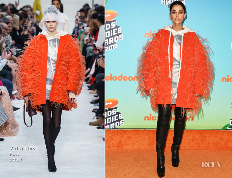 Naomi Scott In Valentino - Nickelodeon's 2019 Kids' Choice Awards