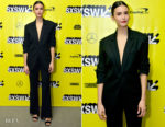Nina Dobrev In Monse - 'Run This Town' SXSW Premiere
