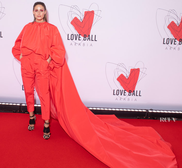 Olivia Palermo In Giambattista Valli Haute Couture -  Love Ball in aid of the Naked Heart Foundation and Al Shafallah at Museum of Islamic Art